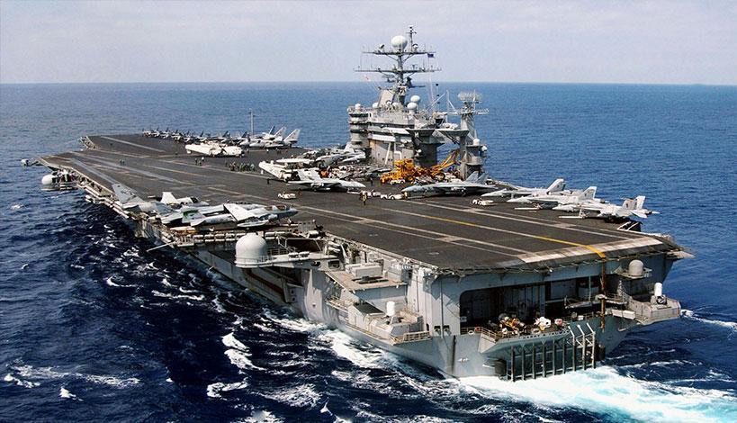 To αεροπλανοφόρο «Harry Truman» εισήλθε στη Μεσόγειο