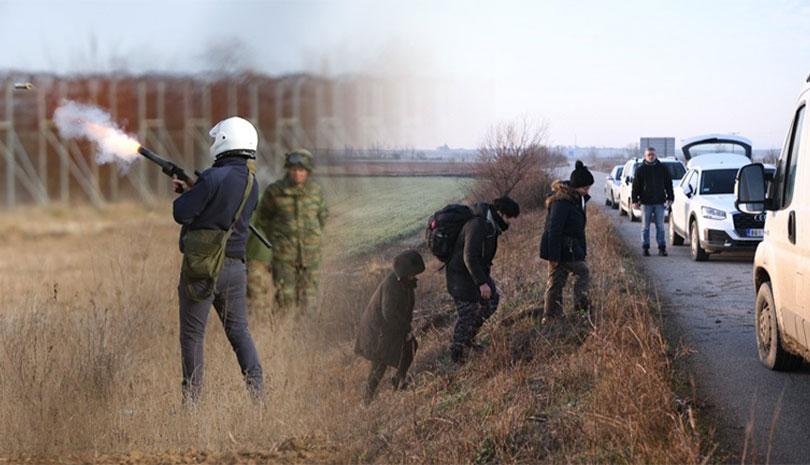 Ολονύχτια μάχη στον Έβρο για να μην περάσουν τα σύνορα οι μετανάστες