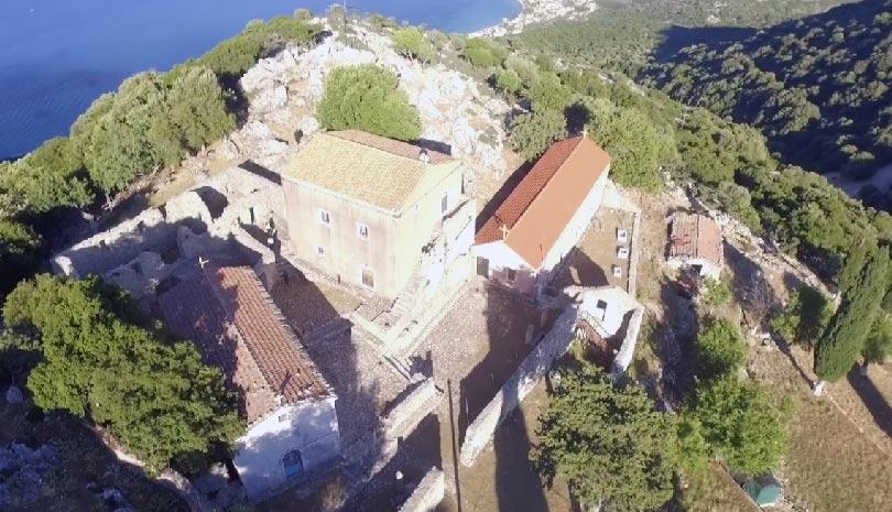Μονή Υπεραγίας Θεοτόκου Άτρου: Πετάμε πάνω από το ιστορικότερο Μοναστήρι της Κεφαλονιάς