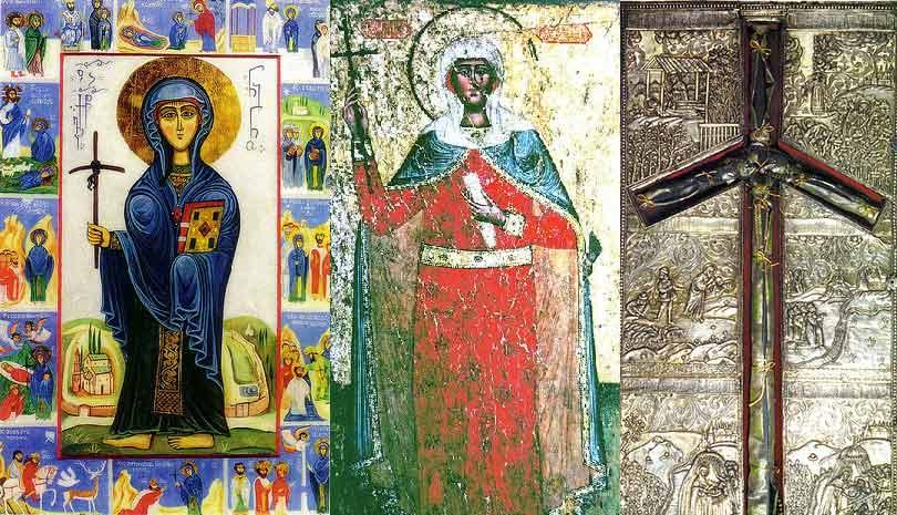 Γιορτή σήμερα 14 Ιανουαρίου Αγία Νίνα Ισαπόστολος