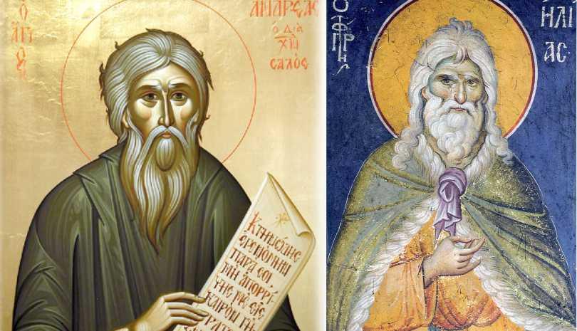 Άγιος Ανδρέας ο δια Χριστόν Σαλός - Προφητείες - Προφήτης Ηλίας - Προφήτης Ενώχ - Αντίχριστος