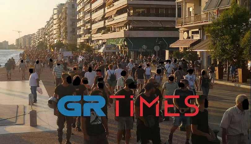 Νέα διαμαρτυρία κατά των υποχρεωτικών εμβολιασμών στη Θεσσαλονίκη